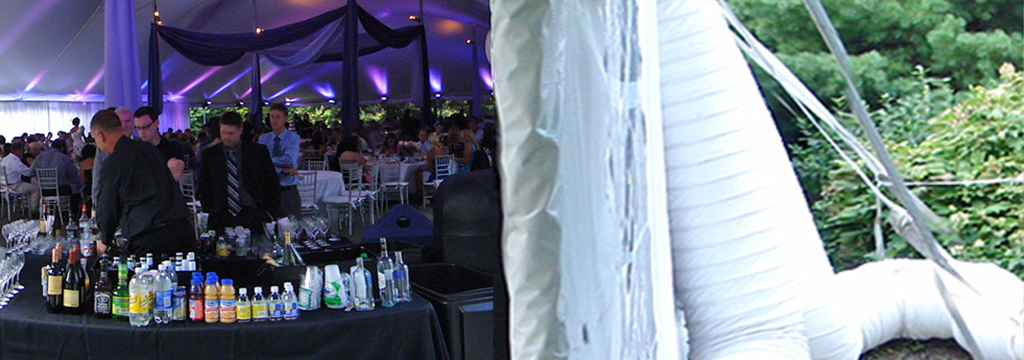 Tent Event Air Conditioning service for wedding Pittsburgh