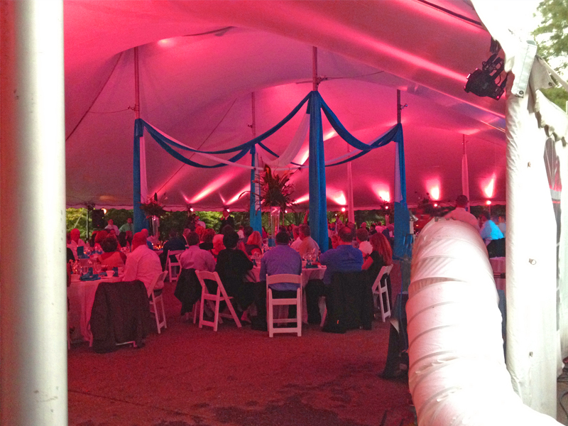 Air Conditioning for Special Events in tents & Event Cooling - Mobile AC Service for Tent Events